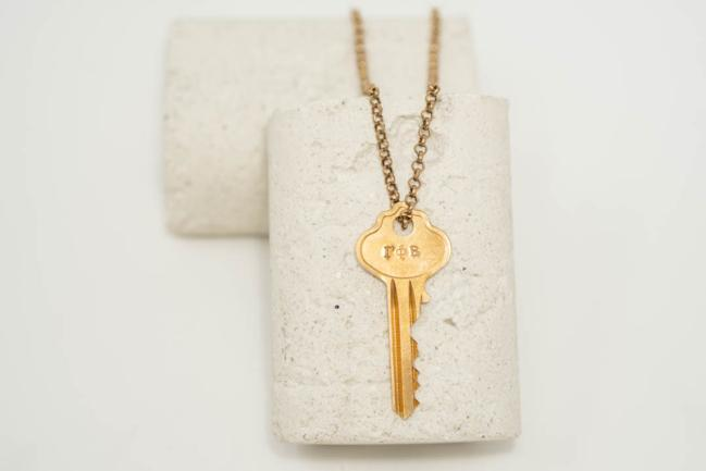 The Giving Keys, - The Giving Keys Classic Key Necklace